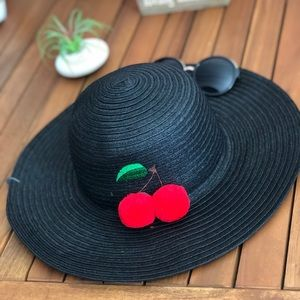 Accessories - Pom-Pom Floppy Hat